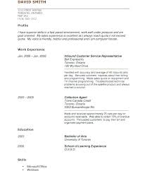 Resume Templates No Experience Sample Resume For High School Student Beauteous What To Put On Resume If No Experience