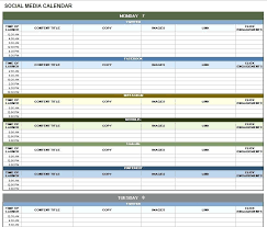 Downloadable Excel Spreadsheets Download Social Media Calendar Template Excel Spreadsheet Templates