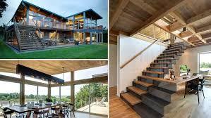 Case Piccole Design : Interni di case in legno moderne bcasa