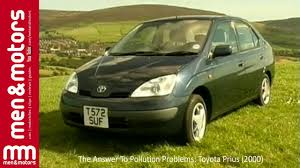 The Answer To Pollution Problems: Toyota Prius (2000) - YouTube