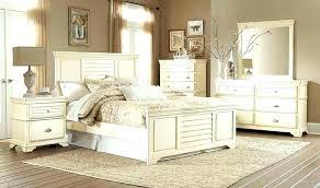 decoration: Antique White Distressed Bedroom Furniture Cottage ...
