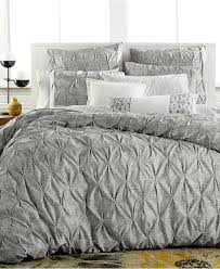 bar iii diamond pleat full queen duvet cover bedding collections bed bath