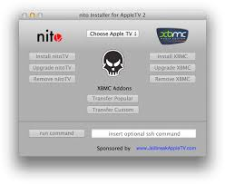 Download HD How To Easily Install Nitotv And Xbmc On Your Apple - Apple Tv  Jailbreak Apps Transparent PNG Image - NicePNG.com