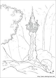 Rapunzel Pictures Coloring Pages Tangled Pictures To Color Coloring