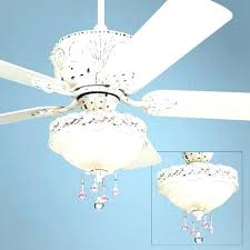 girls ceiling fans spectacular fan with chandelier light girl
