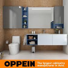 Oppein Modern Bathroom Furniture Set Wall Mounted Bathroom Medicine