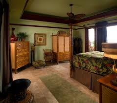 Master Bedroom Traditional A Traditional Master Bedroom With Green Paint Dark Wood Crown