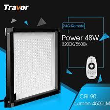 Travor Flexible Bi-Color led video light <b>FL</b>-3030A size 30*30CM CRI ...