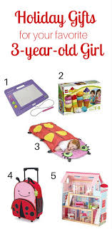 Holiday Gift Guide for the 3-year-old Girl in Your Life   Mommy Sanest