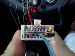 k12 stereo wiring diagram micra sports club anyone able to work out what wires are going into old clarion plug