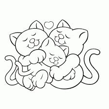 25 Printen Kleurplaten Schattige Kittens Mandala Kleurplaat Voor