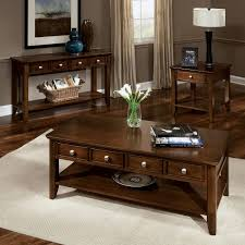 decorating end tables without lamps guest table with single tier as storage shelf match any exterior or interior setting border detailing and two stools