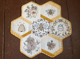 Anita Goodesign Honeycomb Quilt &  Adamdwight.com