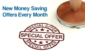 every month we feature a new special offer to help you save money on our cleaning services please visit our website often as we update our special offers