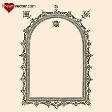 antique picture frames vector. Antique Picture Frames Vector T