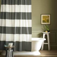 black white striped shower curtain best shower curtains images on bathroom bathroom window curtains and for