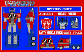 transformers sheet transformers ac optimus prime model sheet by voltagestudios on
