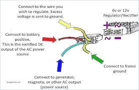 wiring diagram symbols relay rectifier regulator 4 wire system regulator wiring diagram at Regulator Wiring Diagram