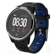 <b>Умные часы Geozon Vita</b> Plus Black Blue — купить в интернет ...
