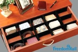 tie drawer organizer drawer dividers necktie drawer organizer . tie drawer  organizer ...