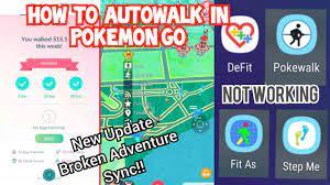 DeFit's Not Working | How To Autowalk In Pokemon Go Now? | New Pokemon Go  Update - YouTube