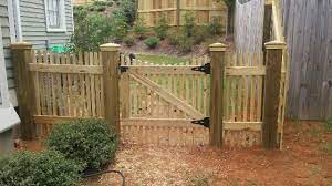 build a redwood fence in five easy