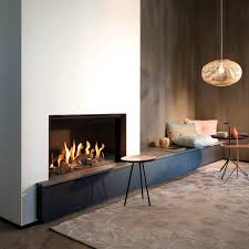 gas fireplace contemporary closed hearth central eco line g80 48f