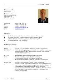 Simple Resume Format Doc Custom Cv Form Doc Demireagdiffusion