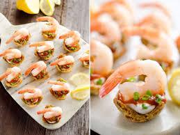 Light Shrimp Cocktail Bites