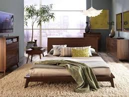 Mid Century Bedroom Furniture Vintage Mid Century Modern Bedroom Furniture Low Profile Platform