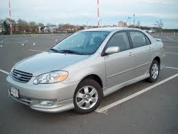 2004 Toyota Corolla Sport - image details