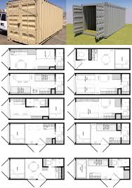 Foot Shipping Container Floor Plan Brainstorm Tiny House Living - Container house interior