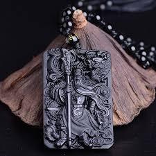 in 2020 black obsidian necklace