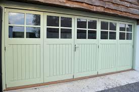 garage bi fold doors tgv glazed 4 panes