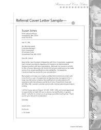 Referral Cover Letter Email Official Leave Application Format Bunch