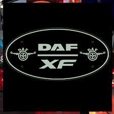 daf xf truck mirror custom light
