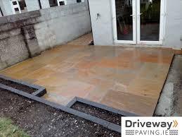 patio paving in ireland
