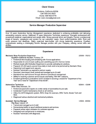 Writing A Concise Auto Technician Resume Body Tech Exa Sevte