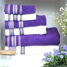 decorative bath towels purple. Creative Purple Decorative Bath Towels Bathroom U
