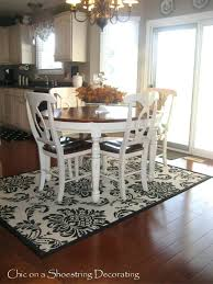carpet under dining table catchy rug