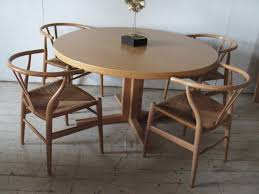 round dining room table with leaves. danish modern dining table round 2 leaves john mortensen room with t