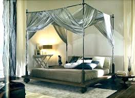 Canopy Drapes Black Bed Canopy Elegant Black Canopy Bed Set Black ...