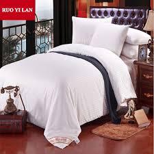 100 cotton satin stripe quilt cover inner duvet cover for diy silk quilt white pink