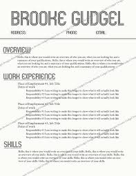 Sorority Recruitment Resume Sorority Resume Template Retro Resume Contact Brookegudgel Gmail 19