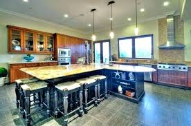 kitchen islands huge kitchen island a huge kitchen island dining table takes center stage in