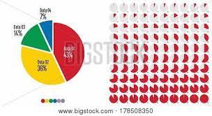 Set Pie Chart Vector Photo Free Trial Bigstock
