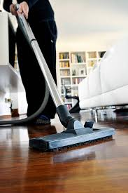 ... Up Close Photo Of A Vacuum Cleaning Laminate Flooring Stock Photo ...