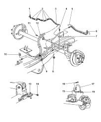 1998 jeep grand cherokee brake lines hoses rear