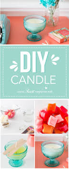 Diy Candles Homemade Candle Gift Idea I Heart Nap Time