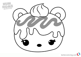 Comfortable Mac Minty From Num Noms Coloring Pages Free Printable